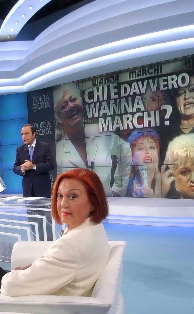 Ospite in tv da Bruno Vespa