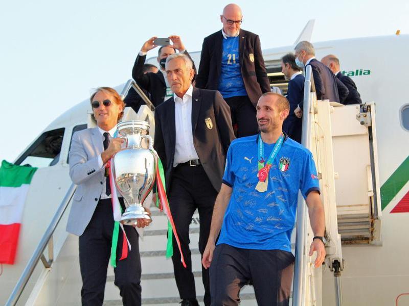Azzurrisul tetto d'Europa:la Coppa torna a Roma dopo 53 anni