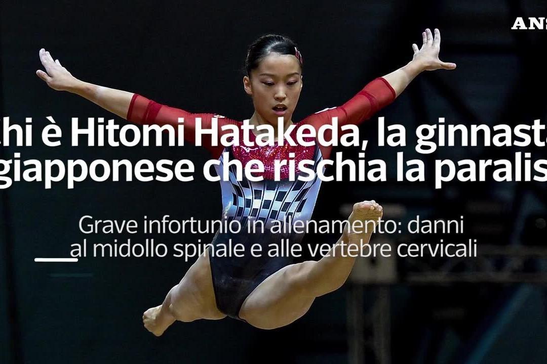La ginnasta Hitomi Hatakeda cade alle parallele, ora rischia la paralisi