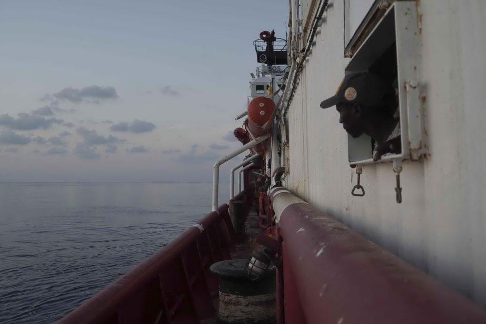 La Ocean Viking (Ansa)