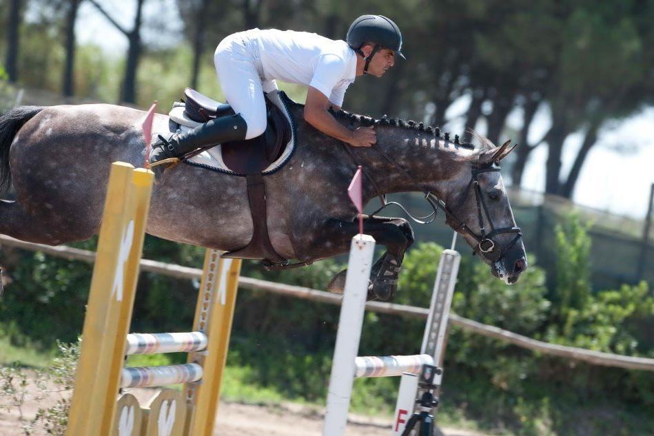 Equitazione, a Enrico Carcangiu il titolo di campione sardo