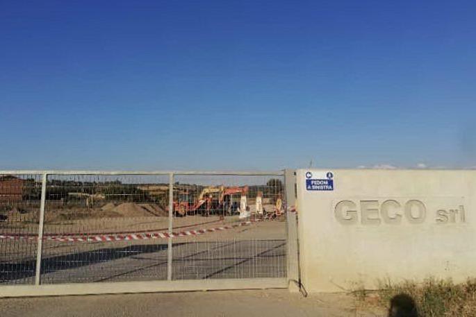 L'impianto della Geco (Foto V.Pinna)
