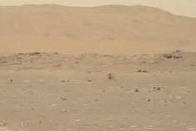 Ingenuity, il video in tempo reale dello storico volo su Marte