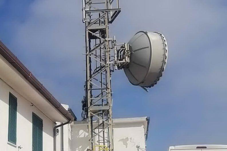 All'Asinara squillano i cellulari: sull'isola il primo ripetitore