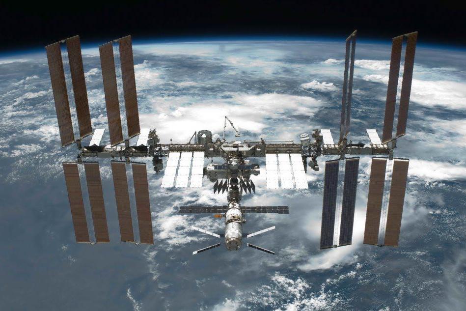 La stazione spaziale passa sopra la Sardegna