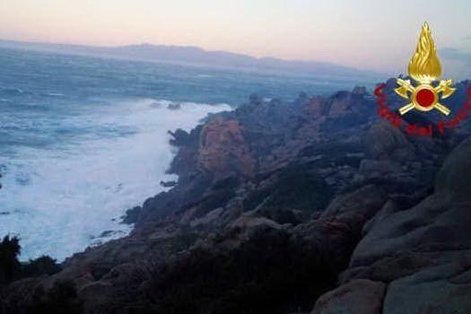 Maltempo sul nord Sardegna, forti folate di maestrale
