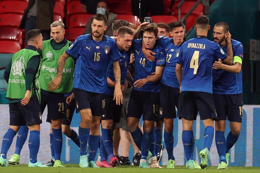 Italia-Austria 2-1ai supplementari: decidono Chiesa e Pessina. Azzurri ai quarti