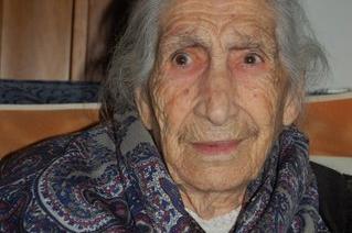 Cuglieri, tia Maria Fara se ne va a 108 anni