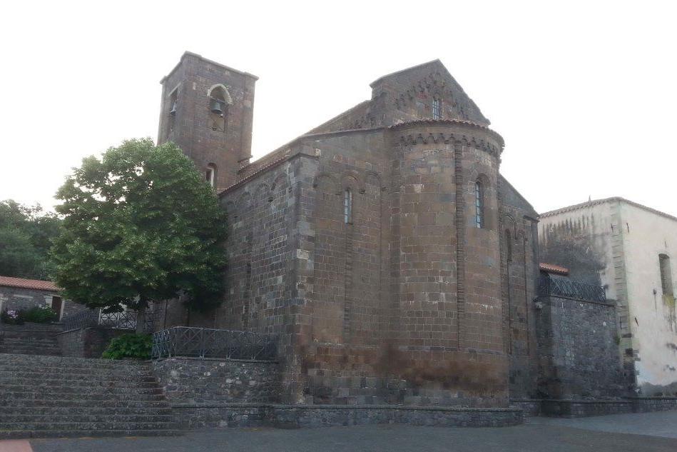 Bonarcado, Basilica di Santa Maria (foto Pintus)