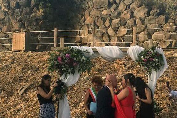 A Mogoro il primo matrimonio nel nuraghe Cuccurada