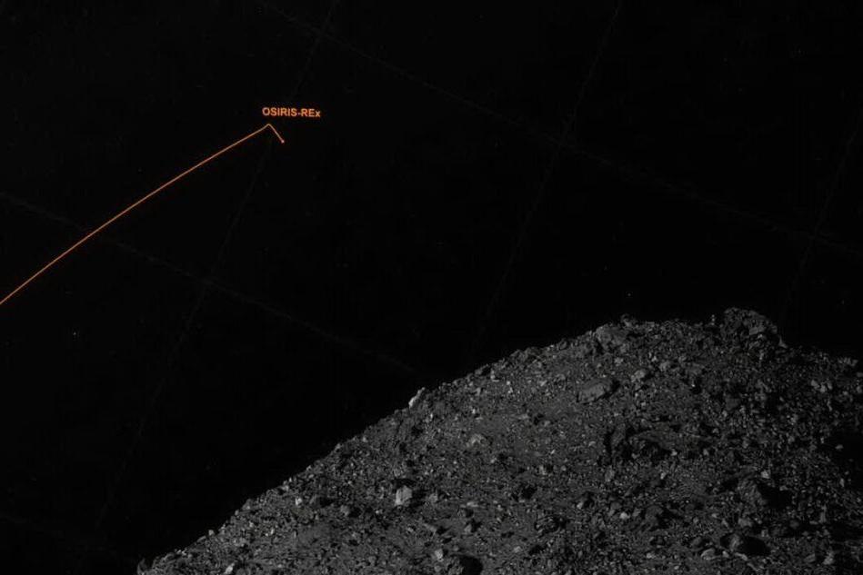 La sonda Osiris-Rex incontra l'asteroide Bennu