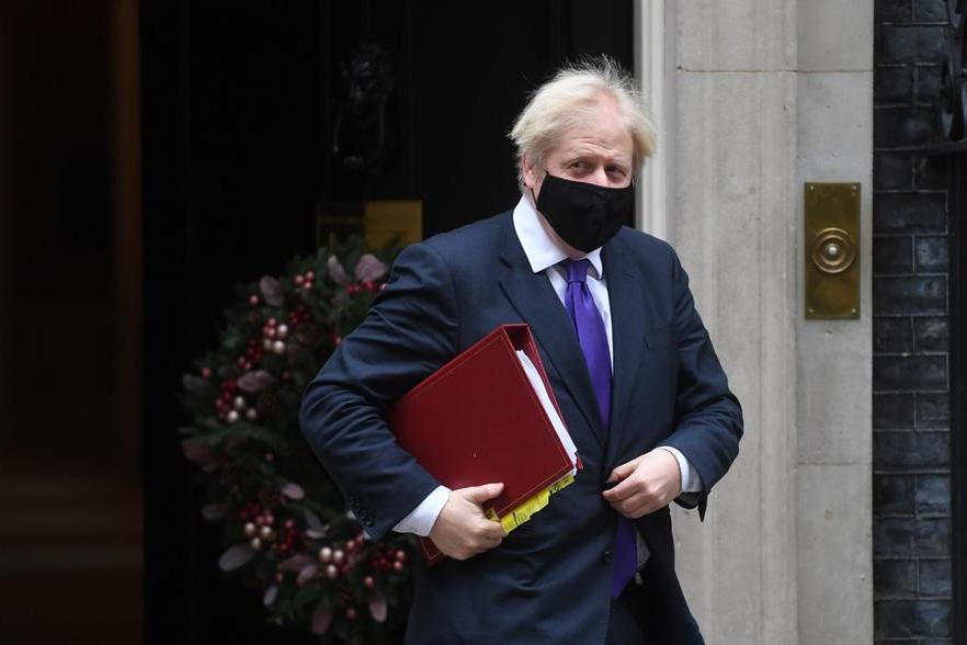 Il premier britannico Boris Johnson (Ansa-Epa)