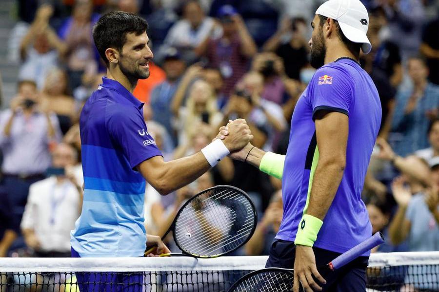 Us Open, Berrettini si ferma: battuto da Djokovic ai quarti di finale