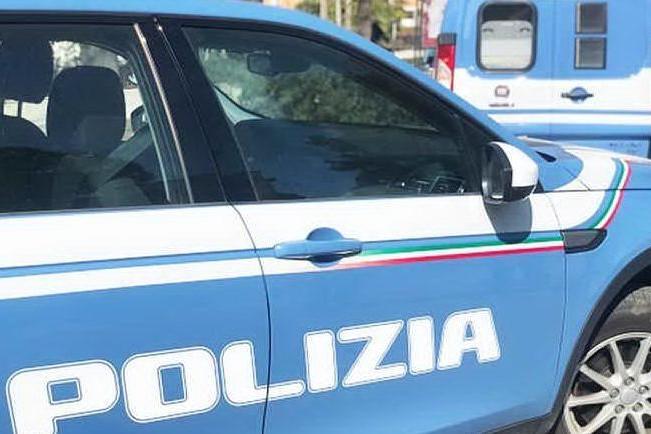 Un'auto della polizia (Ansa)