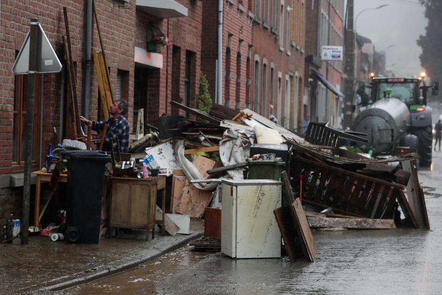 Maltempo killer anche in Belgio: più di venti morti, in 20mila senza elettricità