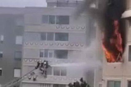Incendio in una casa a Su Planu, l'intervento dei vigili