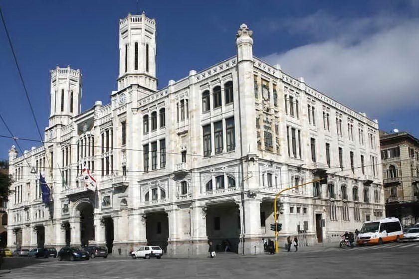 Il municipio (Archivio L'Unione Sarda)