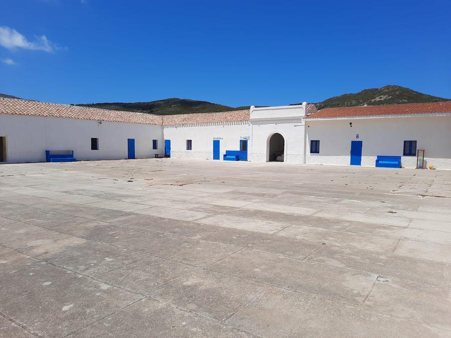 L'interno del carcere di Cala d'Oliva (foto m. v.)