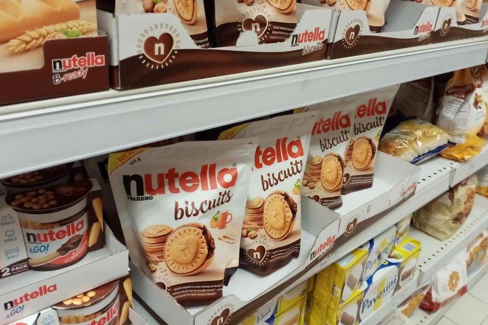 Tutti pazzi per i Nutella biscuits