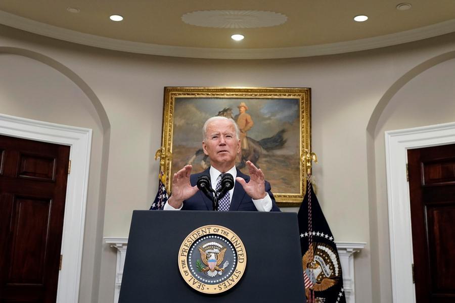"""Afghanistan, Biden: """"Via il 31 agosto, rischi reali di attacchi terroristici"""" - L'Unione Sarda.it"""
