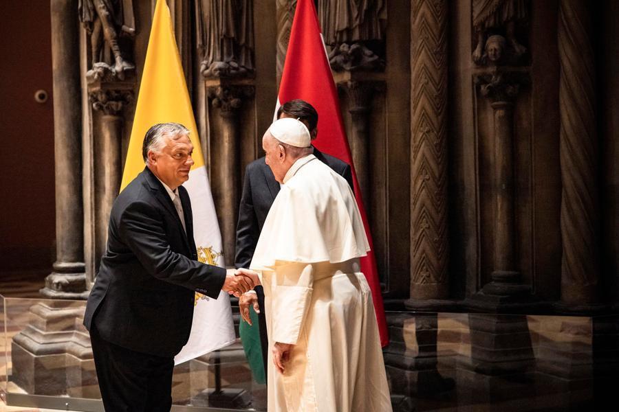 "Il Papaincontra il premier ungherese Orban: ""Colloquio cordiale"""