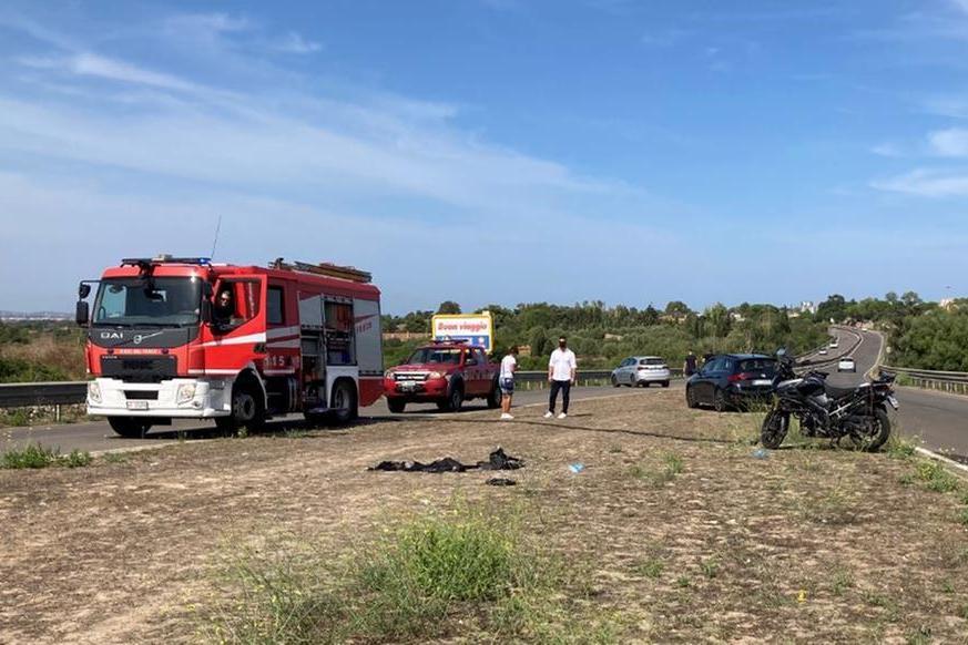 L'incidente (foto M. Pala)