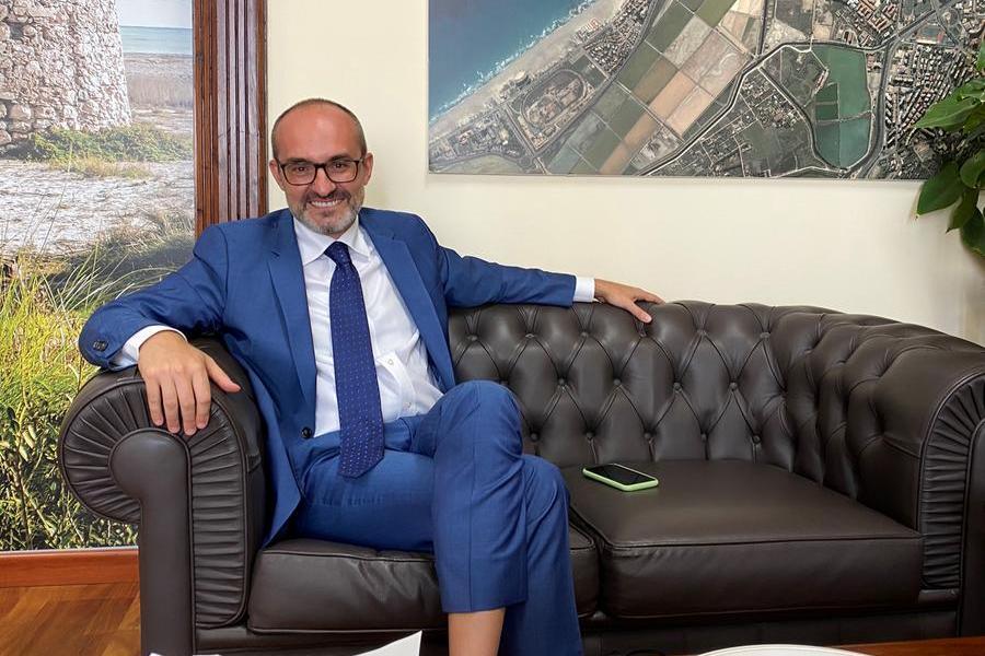 Il sindaco di Cagliari Paolo Truzzu (Foto L'Unione Sarda)