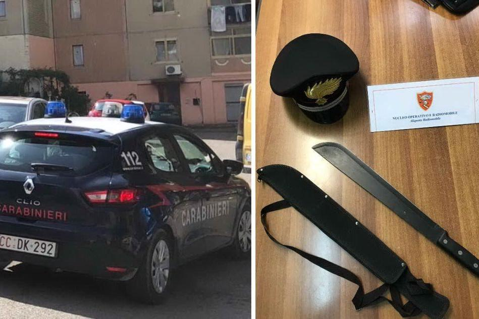 In auto con un machete lungo mezzo metro: nei guai 34enne di Assemini