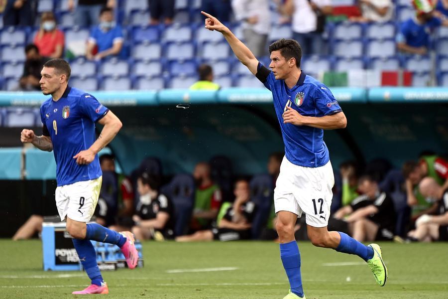 Italia in campo contro il Galles: Pessina a segno, azzurri in vantaggio