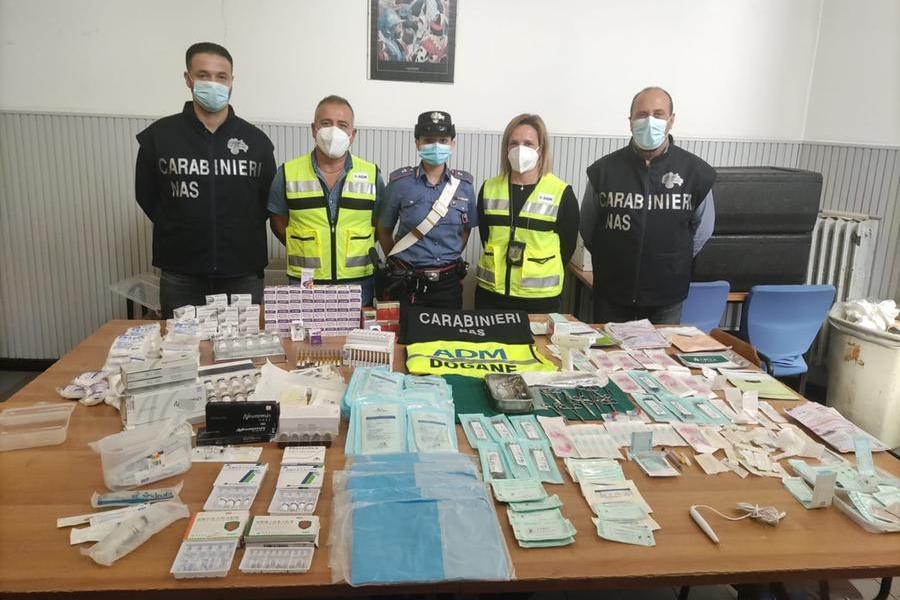 Sequestrati farmaci illegali per trattamenti estetici