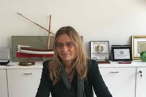 Gabriela Scanu, commissaria del Parco Asinara (foto Pala)