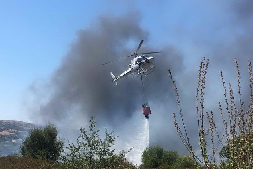 Pericolo incendi nell'Isola, attenzione rinforzata in due zone