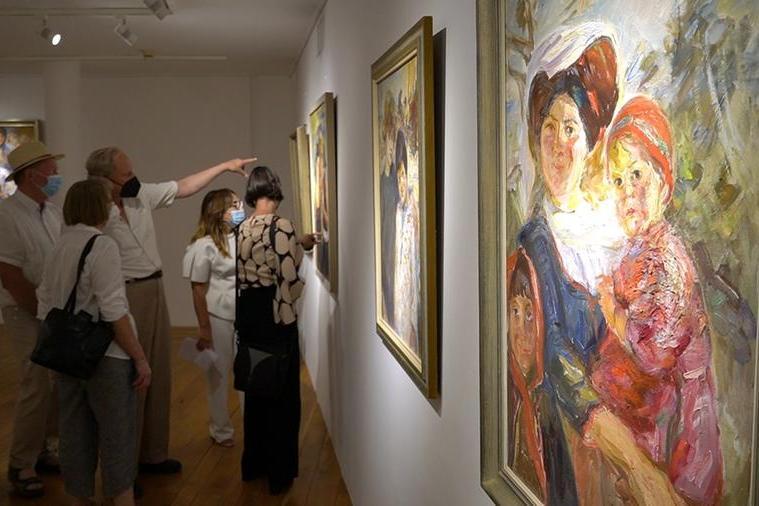 Richard Scheurlen, il pittore tedesco di Atzara