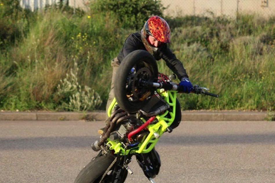 HellMike, l'unico stunt-rider sardo