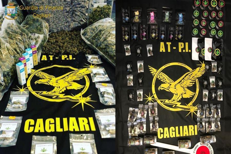 Cagliari, vendevano cannabis illegale via Telegram e Instagram: denunciati