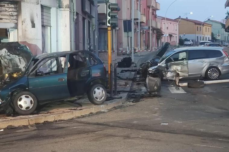 Lutto cittadino a Carbonia dopo l'incidente mortale
