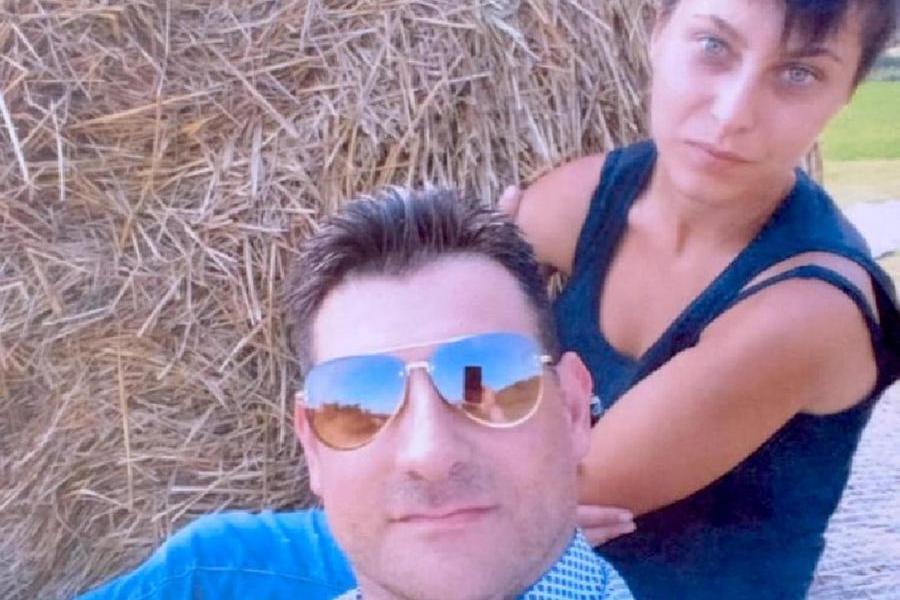 Massimo Sebastiani e Elisa Pomarelli (Ansa)