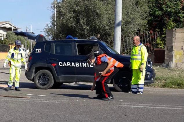 Tragico scontro a Villa San Pietro: la vittima è un 34enne