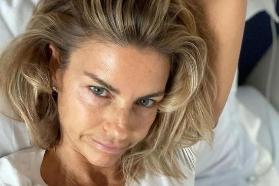 """Martina Colombari: """"Ho preso il Covid, solo un po' di raffreddore perché sono vaccinata"""""""