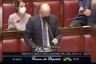 """La confusione del deputato: """"L'Italia ha 300mila km di costa"""". Ma in realtà sono 8mila"""