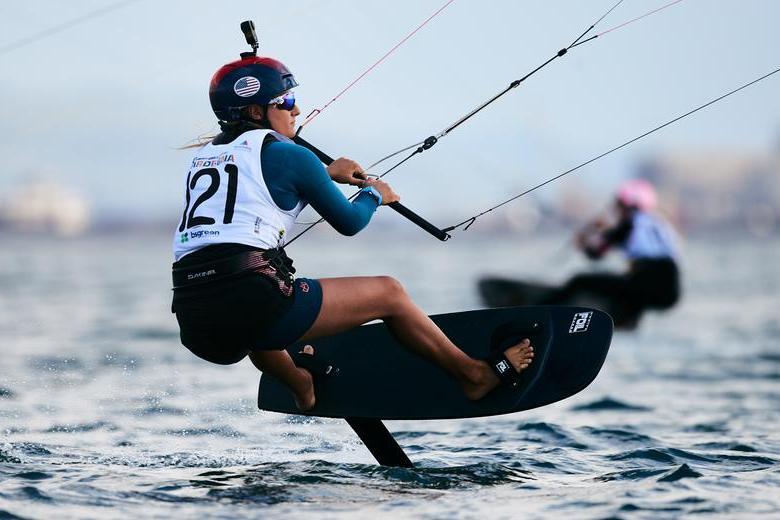 La campionessa del mondo in carica Daniela Moroz a Torregrande (foto Robert Hajduk - ShutterSail.com)