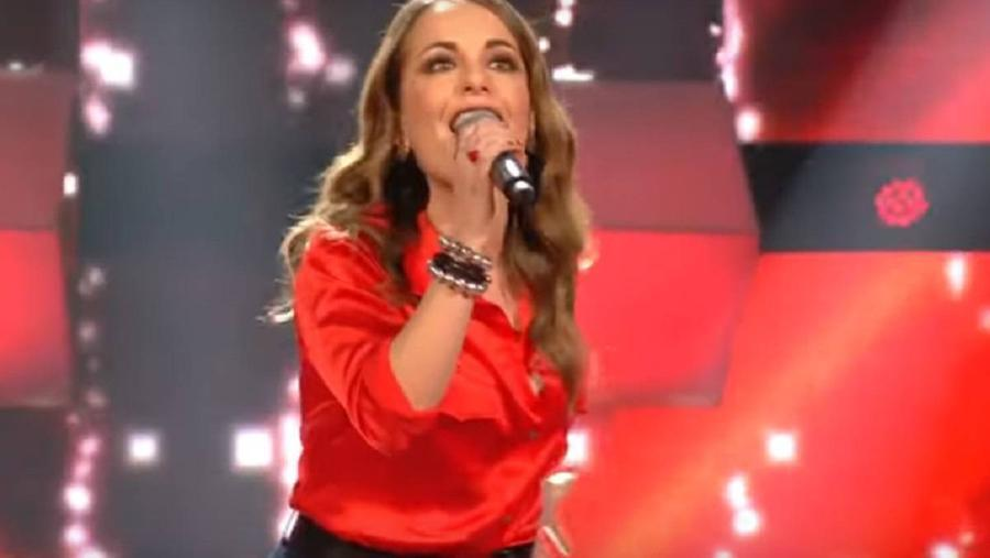 """La cantante all'edizione francese di \""""The Voice\"""""""