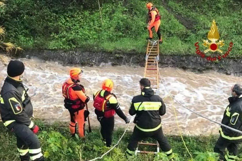 """Carbonia, scomparso nel fiume: """"Era un falso allarme"""". Sospese le ricerche"""