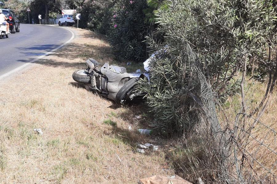 Cagliari: sbanda con lo scooter, incidente mortale al Poetto