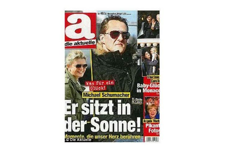 La copertina di Die Aktuelle