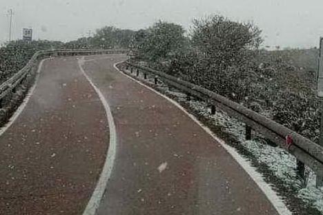 Ancora gelo in Sardegna ma le temperature sono in risalita