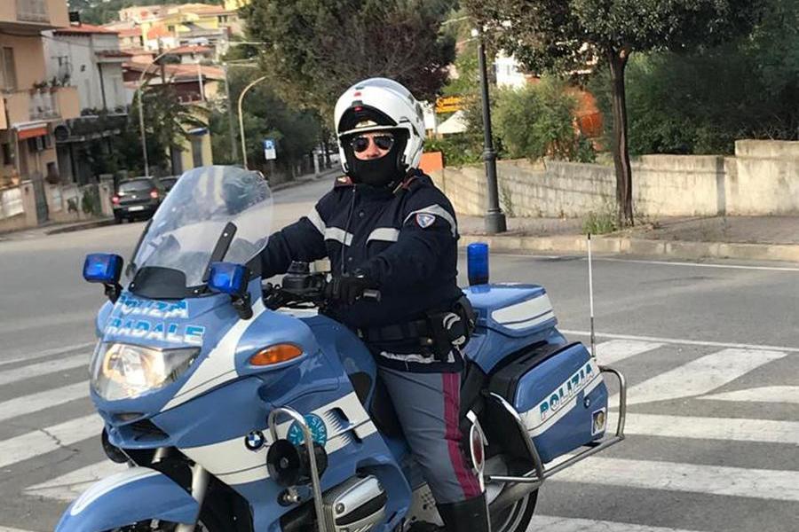 Marino Terrezza in una foto della Polizia di Stato (Ansa)