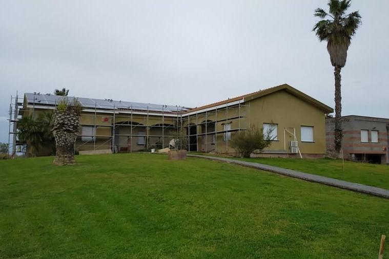 La sede de L'Unione dei Comuni dei Fenici (foto Pala)