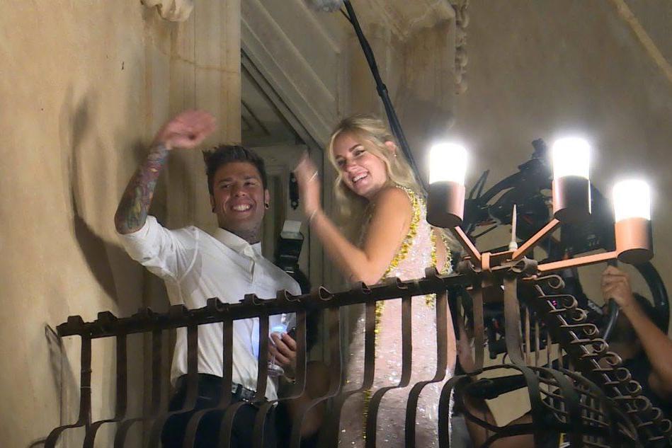 Il matrimonio tra Fedez e Chiara Ferragni è stato preceduto da un party a Noto