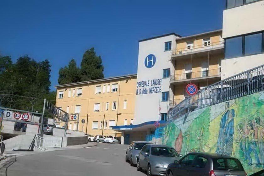 L'ospedale di Lanusei (archivio L'Unione Sarda)